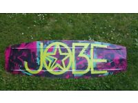 Jobe Austin Series wakeboard 141 bindings 41-45uero 7-10uk wake board boatboard