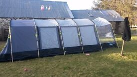 8 man tent plus camping accessories