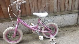 Girl's used bicycle