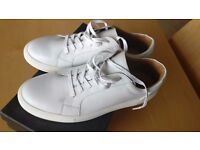 Dune Tatianas White Leather Trainers (11/45)