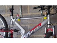 Appolo FS26 17inch frame mountain bike.front and back suspension