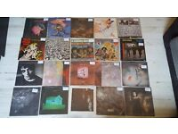 Vinyl records lps prog rock and more