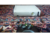 Xbox 360, 250 gb HDD, 27 games, 1 controller, other accessories
