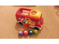 VTECH COUNT WITH ME BUS TOY