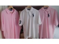 3 x Men's Ralph Lauren XXL Polo Shirts