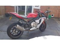 YAMAHA YZF R1-2016-RED/WHITE-1200miles-Immaculate-1 Owner-Part Exchange R1M