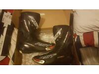 RST Trachtech Evo Motorcycle Boots size 10