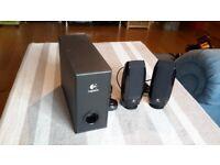 LOGITECH S-220 PC SPEAKERS