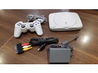 Sony PlayStation One Console - White & Assorted Games