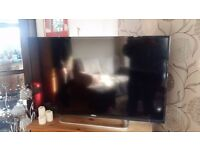 """43"""" seki tv under a year old selling as brought bigger tv"""