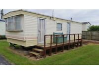 Static caravan in brean