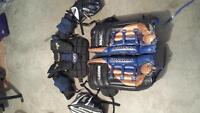Blocker, catcher, chest protector and pads!!