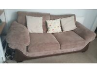 3 seater sofa bed £40