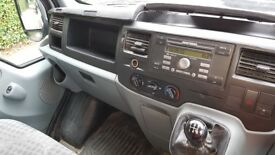 Silver ford transit. Good condition. 135k moterway miles.. 8 months MOT. Part service history