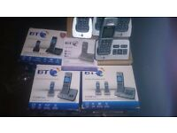 bt cordless phones various models please ring text or email for details all tested ..
