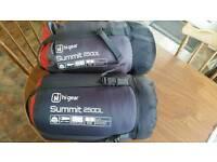 hi gear summit 250dl sleeping bag x 2
