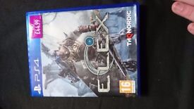 Elex PS4 game almost new condition