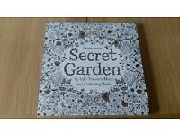Beautiful Secret Garden adult colouring book