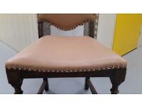 Antique occasional oak chair