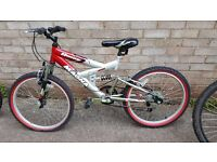 Red/Silver Bike for Kids