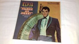 "Elvis Presley 12"" Album - Frankie & Johnny Rare good condition"