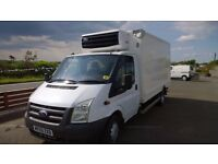 ford transit 115 t350l lwb chiller van,2009 registration, 2.4 lt turbo diesel