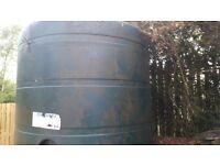 Plastic oil storage tank titian 2500 lts