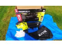 RYOBI - Garden blower, vacuum and mulch - AS NEW used once for 5 mins
