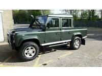 Landrover defender 110 crewcab doublecab may px