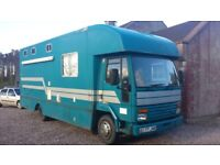 Iveco Ford cargo horse lorry