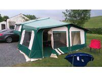 pennine pullman 535 se folding camper 2002 model
