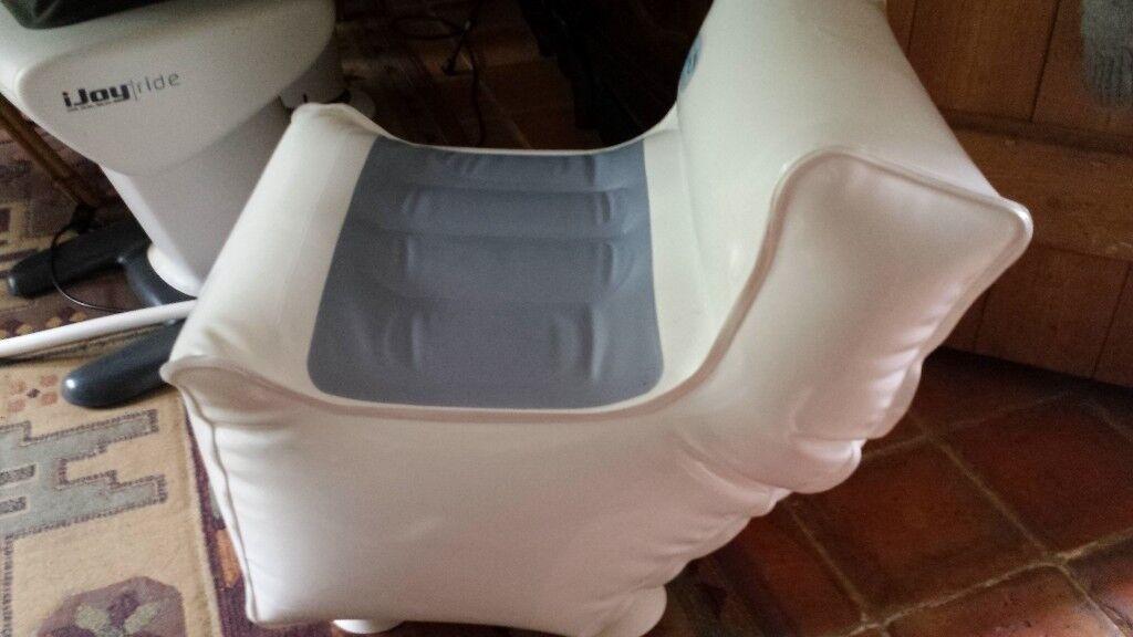 Bathmate Bath Buddy Inflatable Bath Lift Seat Chair Elderly ...