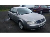 audi a6 tdi limited edition turbo diesel saloon 2004 04 plate