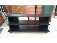 Black Wooden TV stand/Cabinet , V.Good Cond