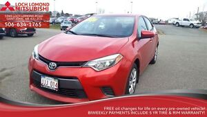 2015 Toyota Corolla LE - great feautres ONLY $135 B/W