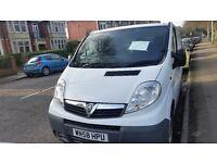 Vauxhall vivaro panel van long mot service history 58plate cheap on fuel tax cd £2995 tidy