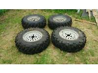 HONDA 250 ATV/Quad wheels and tyres.