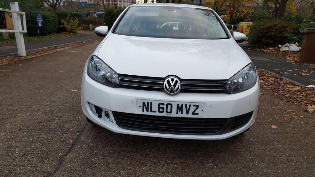 2010 60 VW GOLF 1.6 TDI 5 DOOR - LOW MILES - £30 ROAD TAX A YEAR