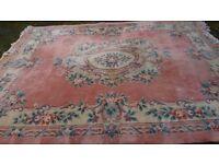 Large Chinese Carpet/Rug