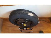Space Saver wheel&Tyre Nissan Qashqai/Juke Renault Kadjar/Capture