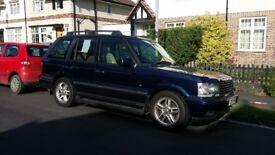 2001 P38 Range Rover 4.6 V8 Vogue Unleaded/LPG