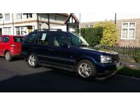 2001 P38 Range Rover 4.6 V8 Vogue Unleaded/LPG
