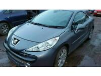 Peugeot 207 1.6hdi 2008reg convertable breaking for parts