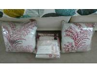 Next curtains and cushions. New in packaging