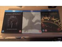 Game of Thrones Blu-Ray Season 1,2 & 3