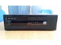 Hp prodesk 400 g2 /i7/4gb/500gb - Hp prodisplay p202 2.5 full HD monitor