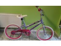 KIDS GIRLS CHILDREN HUFFY SO SWEET 20 INCH WHEELS PINKWELL BMX BIKE BICYCLE