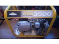 Briggs and stratton 3500 gas generator excellent runner