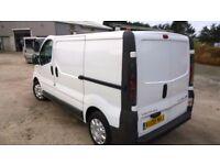 vauxhall vivaro 2700 cdti s.w.b. shr 2008-08-plate, 2000cc turbo diesel, only 133,000 miles, new mot