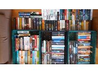 Book bundle. 154 Books. Mostly adult fiction.